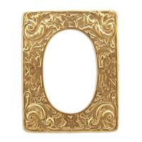 Floral Frame - Item # FA7936 - Salvadore Tool & Findings, Inc.
