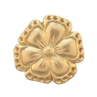Flower w/stone settings - Item # S165 - Salvadore Tool & Findings, Inc.
