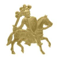 Knight on Horse - Item # SG1191 - Salvadore Tool & Findings, Inc.